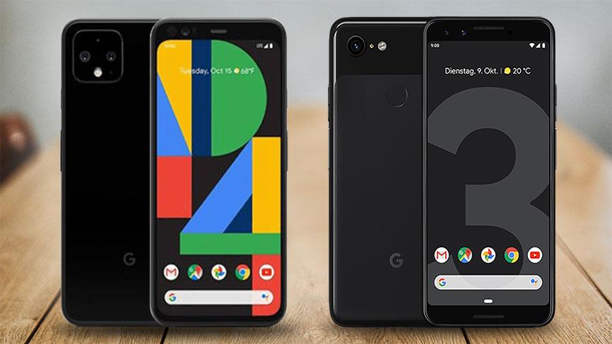 Google Pixel 4 vs. Pixel 3 - Vergleich
