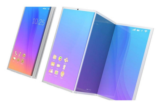 Samsung faltbares Handy