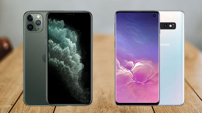 iPhone 11 Pro vs Galaxy S10 Vergleich
