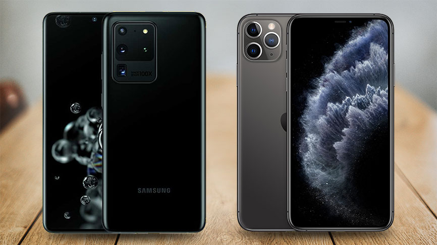 Galaxy S20 Ultra 5G vs. iPhone 11 Pro Max