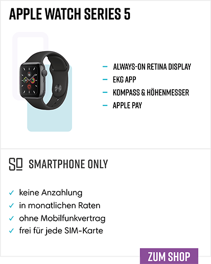Apple Watch Series 5 Ratenkauf