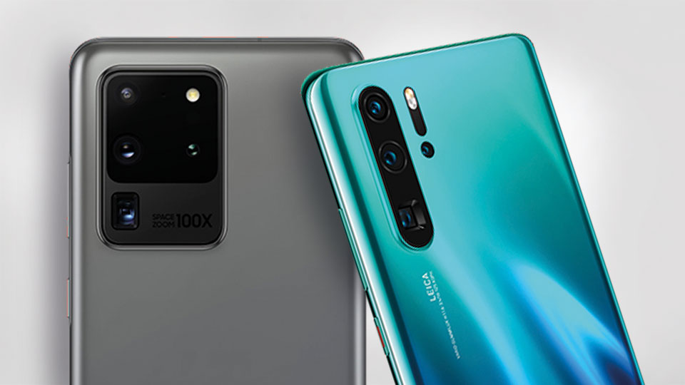 Kamera - Galaxy S20 Ultra 5G vs. Huawei P30 Pro