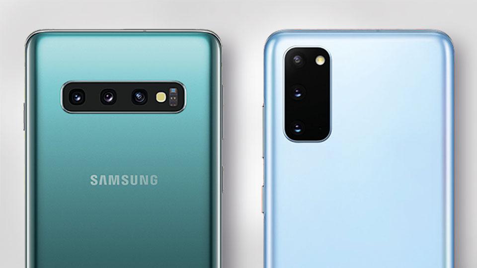 Kamera - Galaxy S10 vs. Galaxy S20