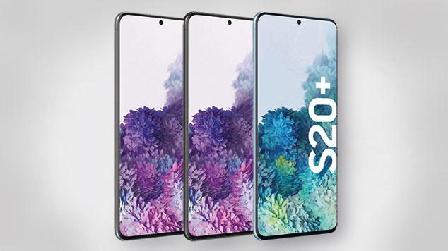 Galaxy S20 Plus Test - die Farbvarianten