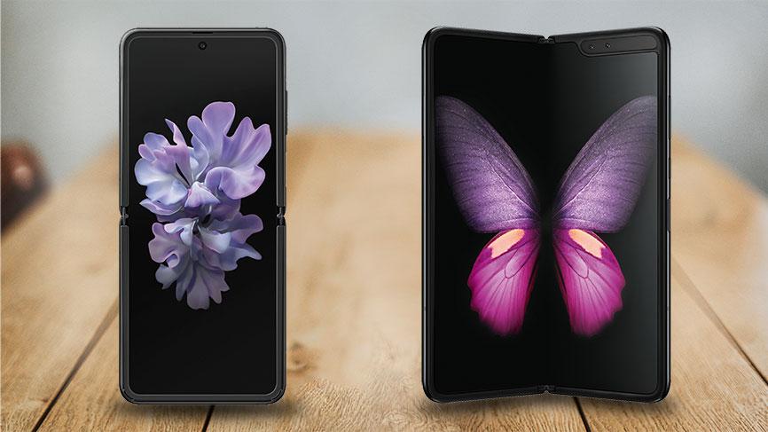 Galaxy Z Flip vs. Galaxy Fold