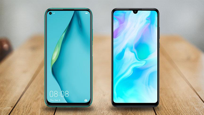 Vergleich Huawei P40 Lite vs. P30 Lite