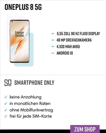 OnePlus 8 Ratenkauf