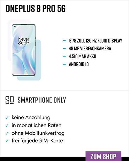 OnePlus 8 Pro Ratenkauf