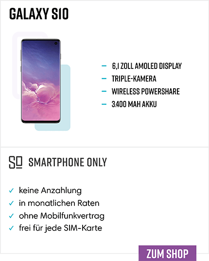 Samsung Galaxy S10 Ratenkauf