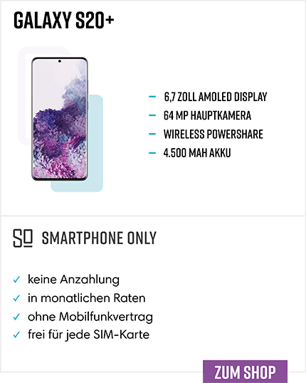 Samsung Galaxy S20 Plus Ratenkauf