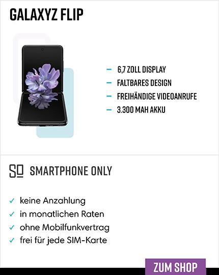 Samsung Galaxy Z Flip Ratenkauf