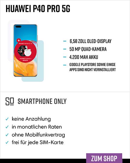 Huawei P40 Pro Ratenkauf