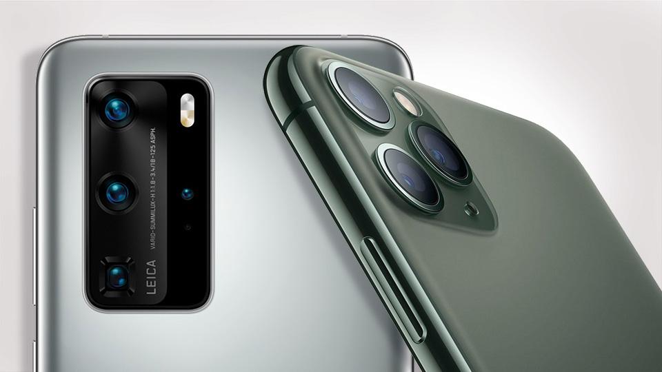 Huawei P40 Pro vs. iPhone 11 Pro Kamervergleich