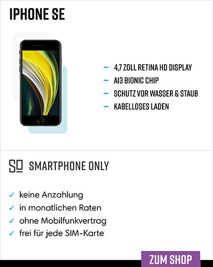iPhone SE Ratenkauf