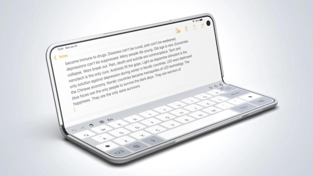 iPhone Fold Tastatur