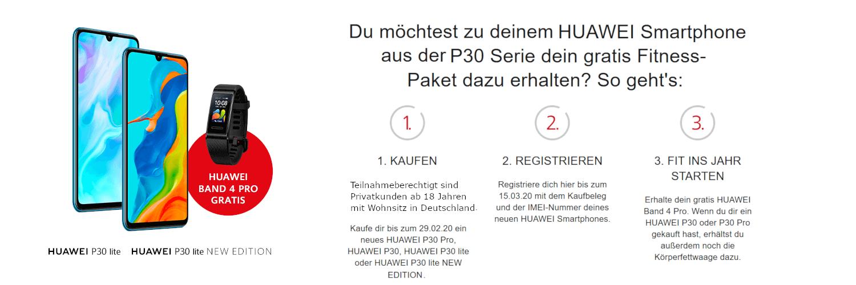 Huawei P30 lite Aktion