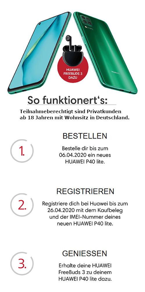 Huawei P40 Lite Aktion