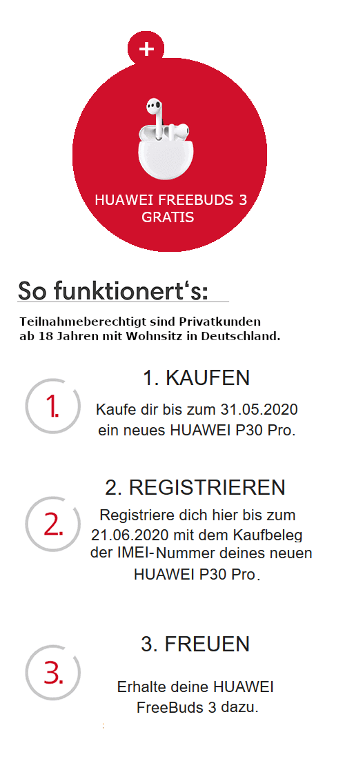 Huawei P30 Pro Aktion