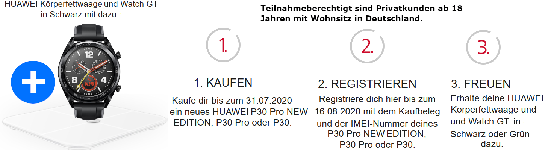 Huawei P30 Pro New Edition Aktion