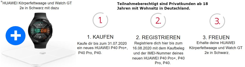 Huawei P40 Pro Aktion