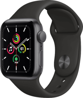 Apple Watch SE (GPS) Aluminium Space Grau