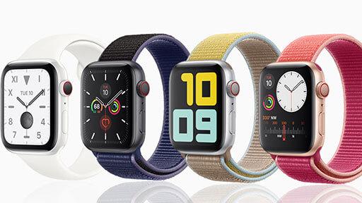 Apple Watch Series 5 Übersicht