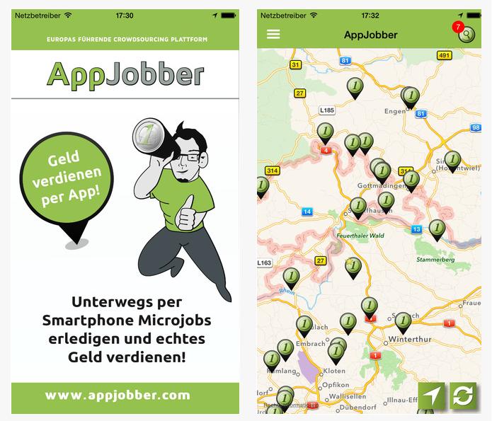Appjobber App Screenshot