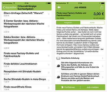 Appjobber App Screenshot 2