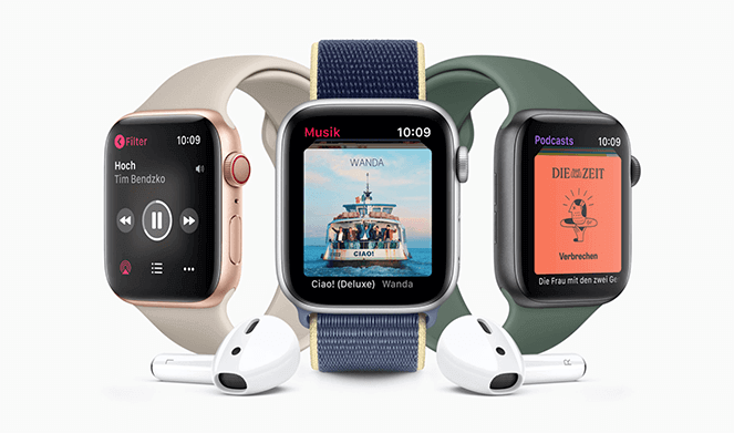 Apple Watch Series 5 Apple Music