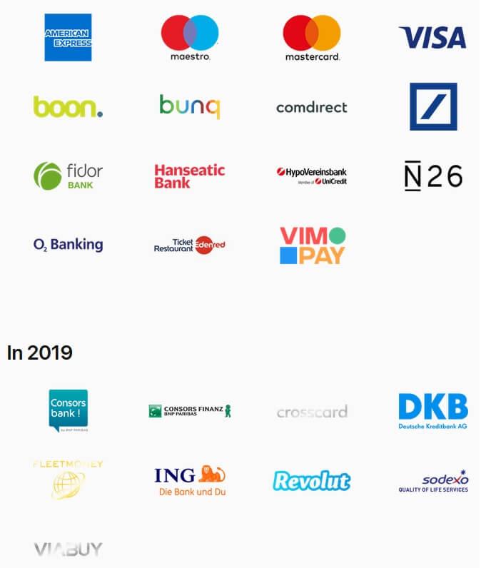 Bankpartner für Apple Pay