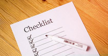 Checkliste bei Diebstahl