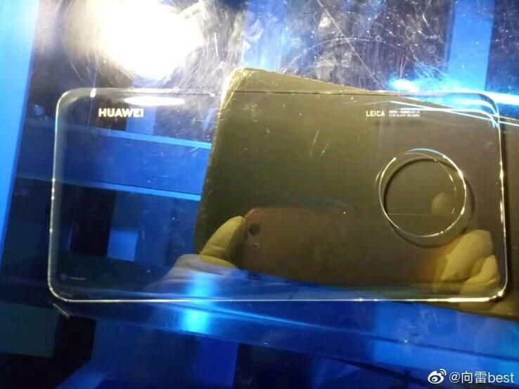 Glas Rückseite des Huawei Mate 30 Pro