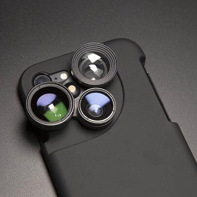 Objektiv für die Handykamera