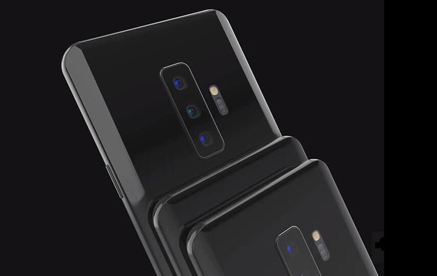 Samsung Galaxy S 10 Rückseite und Kamera