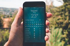 Wetter-Apps