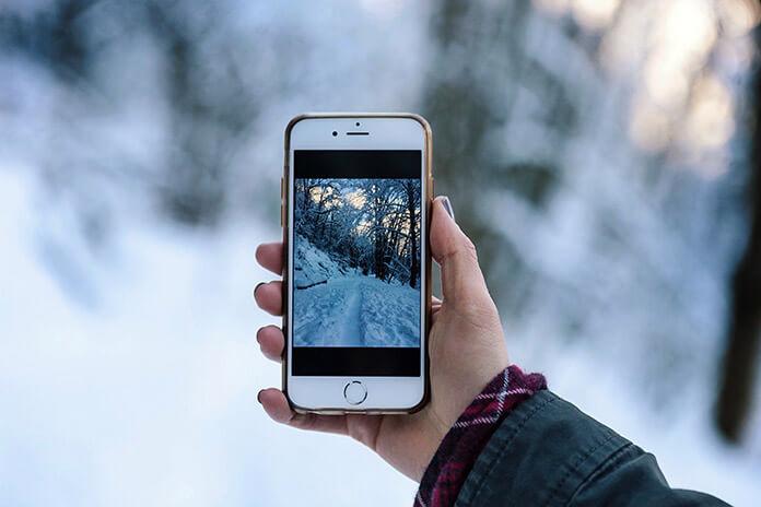 Fotografie auf dem Handy