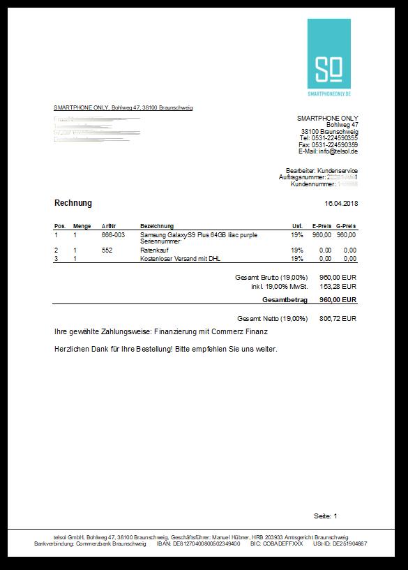 53a1162b66 Handy auf Rechnung - Heute bestellen, später zahlen bei SMARTPHONE ...