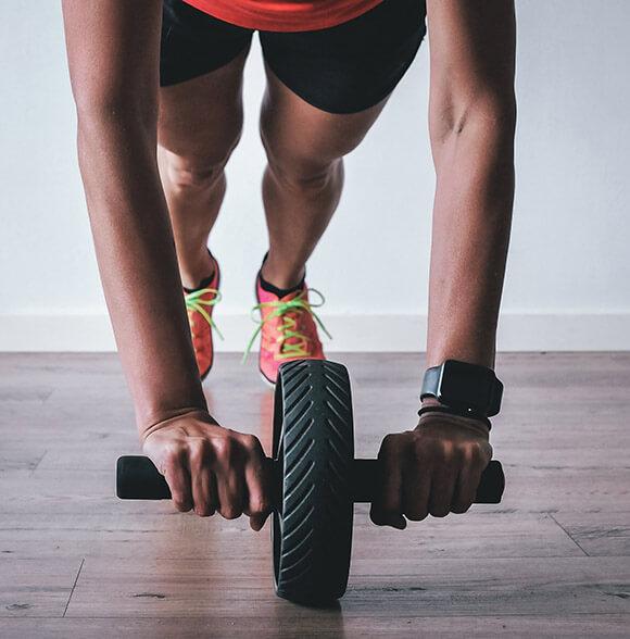 Smartwatch beim Sport